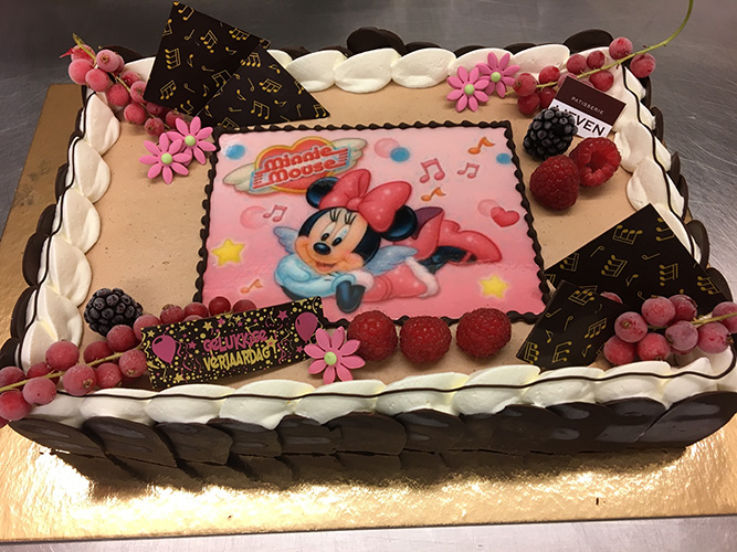 Ijstaart Minnie Mouse